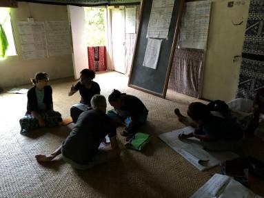 Matasawalevu community hall work